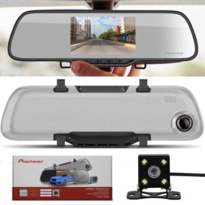"""Retrovisor com Câmera Pioneer Dash Cam VREC-200CH – Tela de 4,7"""""""