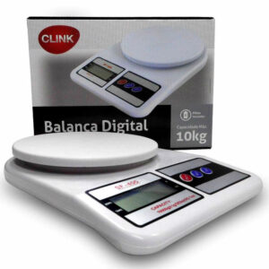 Balança Digital para Cozinha Capacidade 10 Kg Clink