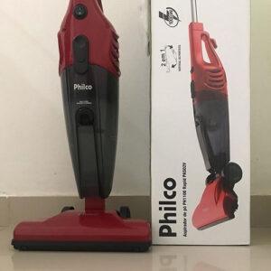 Aspirador de Pó Vertical Philco 1000W – com Filtro Hepa Ph1100 Rapid Turbo Pas02c – 110v/220v
