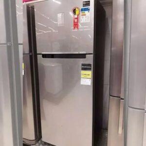 Geladeira/Refrigerador Samsung Frost Free Inverter – Duplex Inox Look 385L PowerVolt Evolution RT38 – bivolt