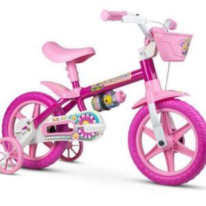 Bicicleta Infantil Aro 12 Flower – Nathor