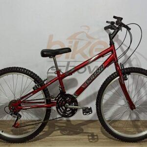 Bicicleta Aro 24 Rebaixada 18 Marchas Aço Carbono Ultra Bikes – 9 opções de cor