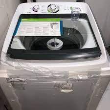Lavadora de Roupas Consul CWH12 ABBNA – 12kg Cesto Inox 16 Programas de Lavagem – 110v/220v