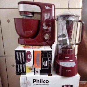Kit Premium Wine Philco com Liquidificador – Batedeira – 110v/220v