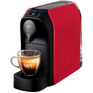 Cafeteira Espresso TRES 3 Corações Passione – 15 Bar Vermelho – 110v/220v