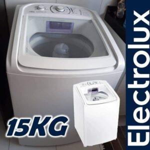 Lavadora de Roupas Electrolux Essencial Care – 15kg 12 Programas de Lavagem – 110v/220v