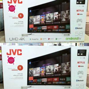 """Smart TV 4K HQLED 58"""" JVC LT-58MB708 Android – Wi-Fi Bluetooth HDR 4 HDMI 3 USB"""