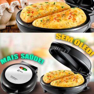 Omeleteira Elétrica Lenoxx Gourmet Preta e Inox – 110v/220v