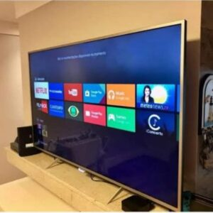 "Smart TV 4K 50"" Philips 50PUG7625/78 – Wi-Fi Bluetooth HDR10+ 3 HDMI 2 USB"