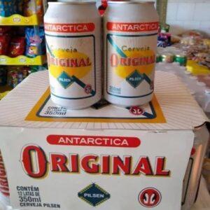 Cerveja Antarctica Original Pilsen 350ml – 12 Unidades