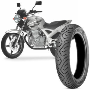 Pneu Moto Cbx Twister Technic Aro 17 130/70-17 62s Traseiro Sport