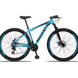 Bicicleta 29 DROPP Aluminum 21 Velocidades Index Freio Disco Suspensão