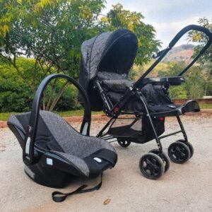 Carrinho de Bebê com Bebê Conforto Travel System Reverse Cosco – 0 a 15kg