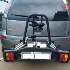 Transbike Suporte Rack Engate 3 Bikes Placa Sinalizadora
