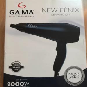 Secador de Cabelos Gama Italy New Fênix Ceramic Íon Motor AC Profissional Índigo 2000W – 110v/220v