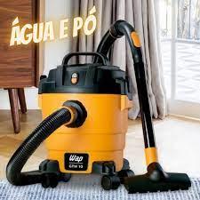 Aspirador de Pó e Água Wap 1400W GTW 10 – Amarelo e Preto – 110v/220v