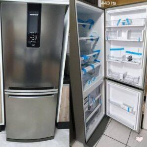 Geladeira/Refrigerador Brastemp Frost Free Inverse – 443L com Turbo Ice BRE57 AKBNA – 110v/220v