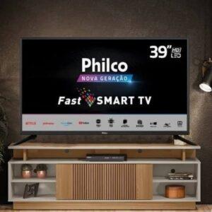 "Smart TV HD 39"" Philco PTV39G60S Wi-Fi – HDR 2 HDMI 1 USB"