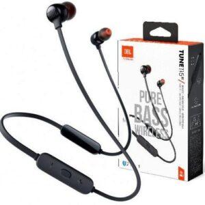 Fone de Ouvido Bluetooth JBL Tune 125 – Intra-auricular com Microfone Preto