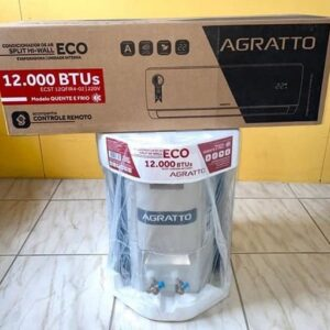 Ar-condicionado Split Agratto 12.000 BTUs Quente/Frio Eco Top – 220v