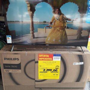 cupom→( VEM10 ) Smart Tv Philips 50″ Uhd 4k Wi-Fi Hdr10+ Dolby Vision E Dolby Atmos Bluetooth Bordas Ultrafinas