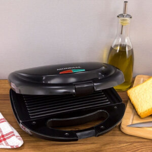 Sanduicheira Mondial Fast Grill e Sandwich – Preto 750W – 220v