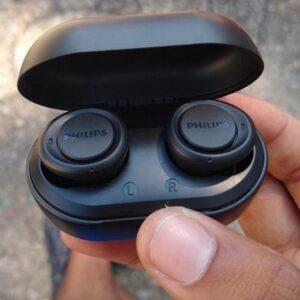 Fone de Ouvido Bluetooth Philips True Wireless c/ Microfone