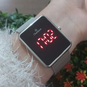 Relógio Led Digital Champion Feminino