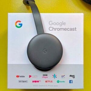 Chromecast 3 Streaming Device Google – Full HD Conexão HDMI