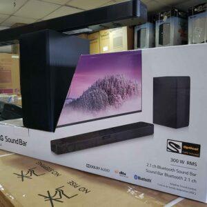 Soundbar LG com Subwoofer Bluetooth 300W 2.1 Canais SN4 – Bivolt