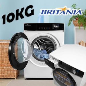 Lava e Seca Britânia BLS11B 10Kg Inverter 16 Programas Branca – 110v/220v