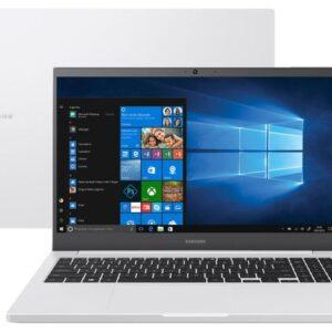 "Notebook Samsung Book NP550XDA-KT2BR Intel Core i3 – 4GB 1TB 15,6"" Full HD LED Windows 10"