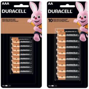 Kit de Pilha AA Pequena + AAA Palito Alcalina – 32 Unidades Duracell