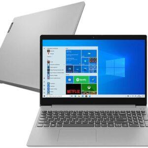 "Notebook Lenovo IdeaPad3i 82BS0005BR Intel Core i5 – 8GB 256GB SSD 15,6"" LCD Windows 10"