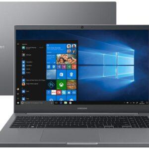 "Notebook Samsung Book NP550XDA-KF2BR Intel Core i5 – 8GB 256GB SSD 15,6"" Full HD Windows 10"