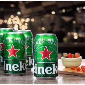 Cerveja Heineken Premium Puro Malte Pilsen Lager – 12 Unidades Lata 350ml