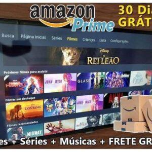 AMAZON PRIME: TESTE POR 1 MÊS GRÁTIS – Filmes, Séries e Musicas