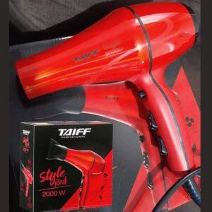 Secador de Cabelo Taiff Style Red Profissional 2000W 2 Velocidades – 110v/220v