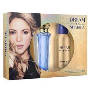 Kit Shakira Dream- Eau de Toilette 80ml + Desodorante 150ml