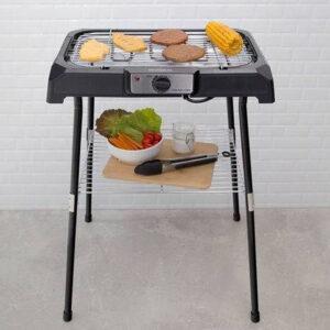 Churrasqueira Elétrica Mondial 2000W – Coletor de Gordura Grand Steak & Grill II – 110v/220v