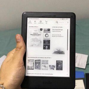 Kindle 10a. geração com bateria de longa duração