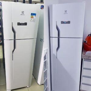 Geladeira/Refrigerador Electrolux Frost Free – Duplex 371L Branca – 110v/220v