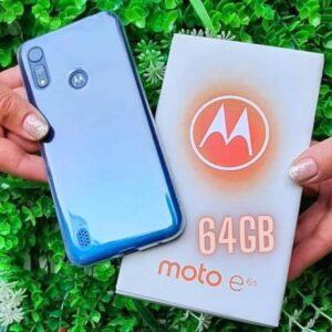 "Smartphone Motorola Moto E6S 64GB Azul Navy 4G – Octa-Core 4GB RAM 6,1"" Câm. Dupla + Selfie 5MP"