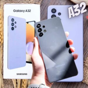 "Smartphone Samsung Galaxy A32 128GB Azul 4G – 4GB RAM Tela 6,4"" Câm. Quádrupla + Selfie 20MP"