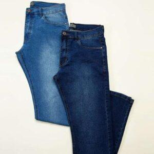 Kit 2 Calças Masculinas Jeans Skinny – KYSH...