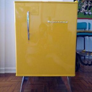 Frigobar Brastemp 76L Amarelo Retrô – 110v/...