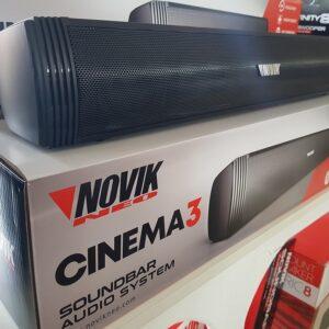 Soundbar NOVIK 2.1 audio system cinema 3 bluetooth...