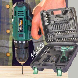 """Furadeira e Parafusadeira a Bateria de Bancada – Britânia Hobby Velocidade Variável 3/8"""" com Maleta"""