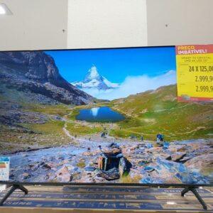 "cupom→( APP10 ) Smart Tv Led Crystal UHD 4K 55"" Samsung Business LH55BEAH Tizen Wi-Fi 3 HDMI 1 USB Bluetooth"