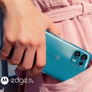 Smartphone Motorola Edge 20 Lite 128GB 5G 6GB RAM ...